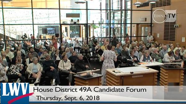 49B Candidate Forum, Edina, MN