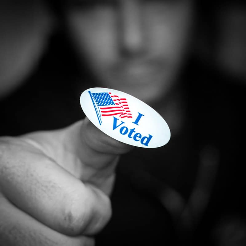 I Voted Photo by Casey Robertson on Unsplash