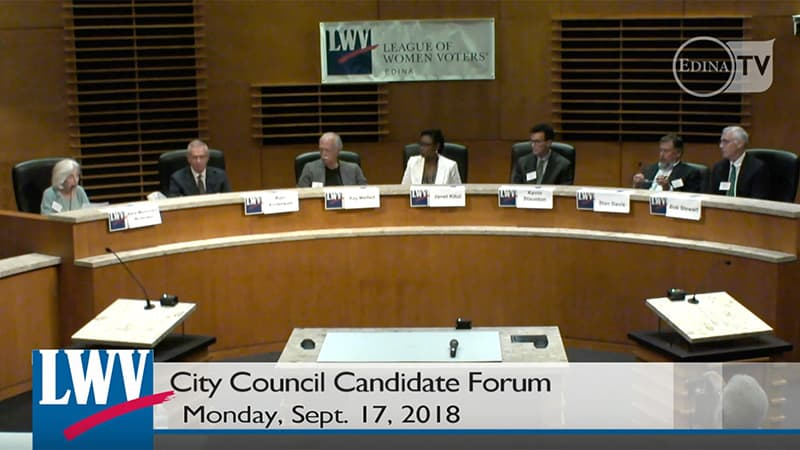 Edina City Council Candidate Forum